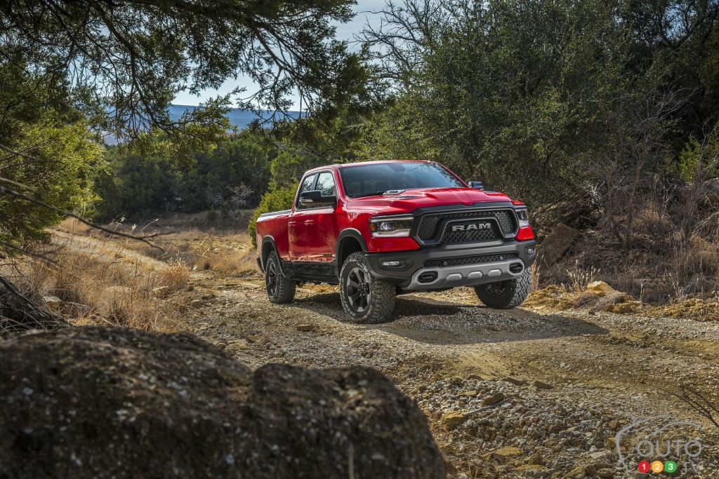 PRIMEUR : Le Dodge RAM 1500 2019 au Salon International de l'auto de Québec