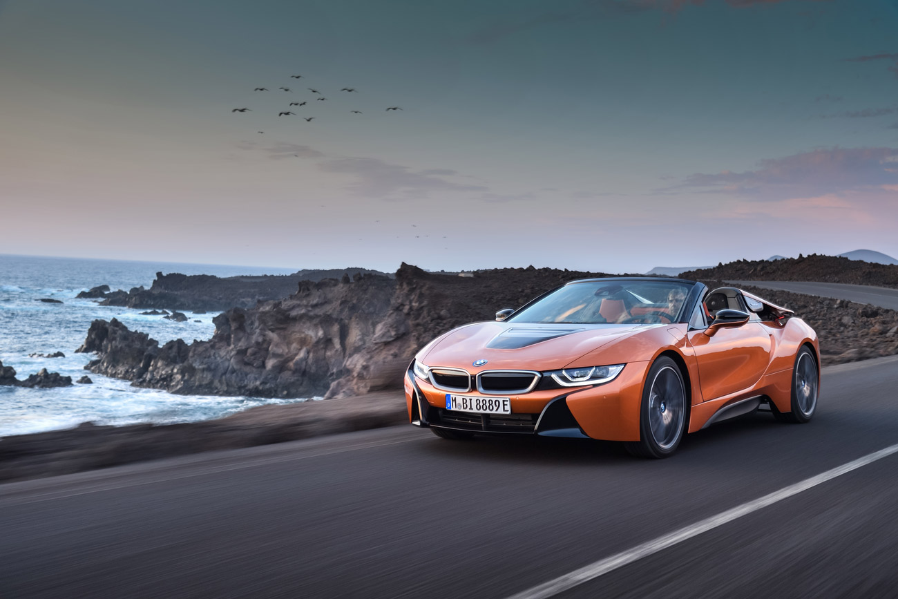 PRIMEUR : Le nouveau BMW i8 Roadster au Salon International de l'auto de Québec