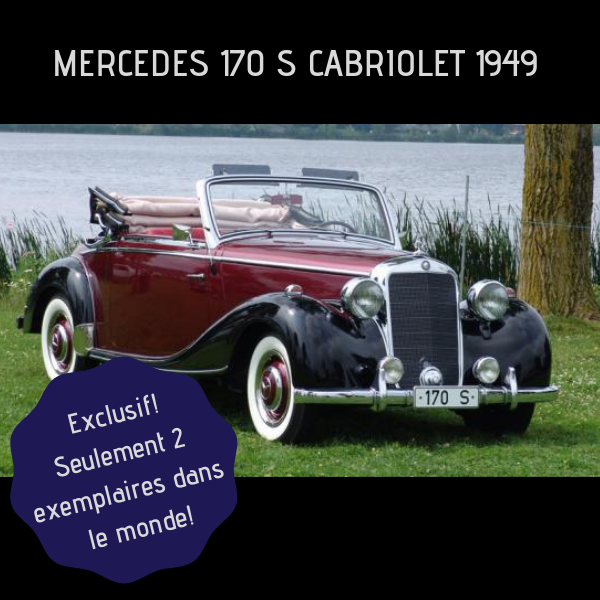 mercedes 170s cabriolet 1949 salon international de l 39 auto de qu bec. Black Bedroom Furniture Sets. Home Design Ideas