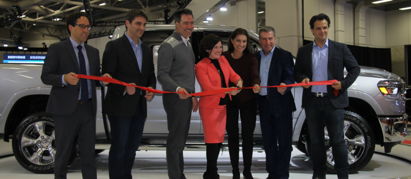 Inauguration officielle du Salon International de l'auto de Québec